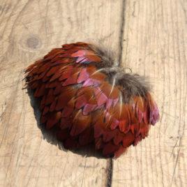 Pandantiv din pene naturale de fazan 2