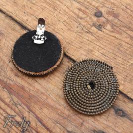 Clipsuri pantofi spirale metalice