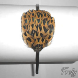 Cordeluta par cu pene fazan leopard