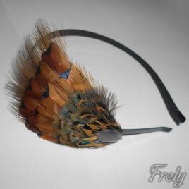 Cordeluta par cu pene fazan mixte