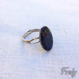 Inel reglabil cu lapis lazuli